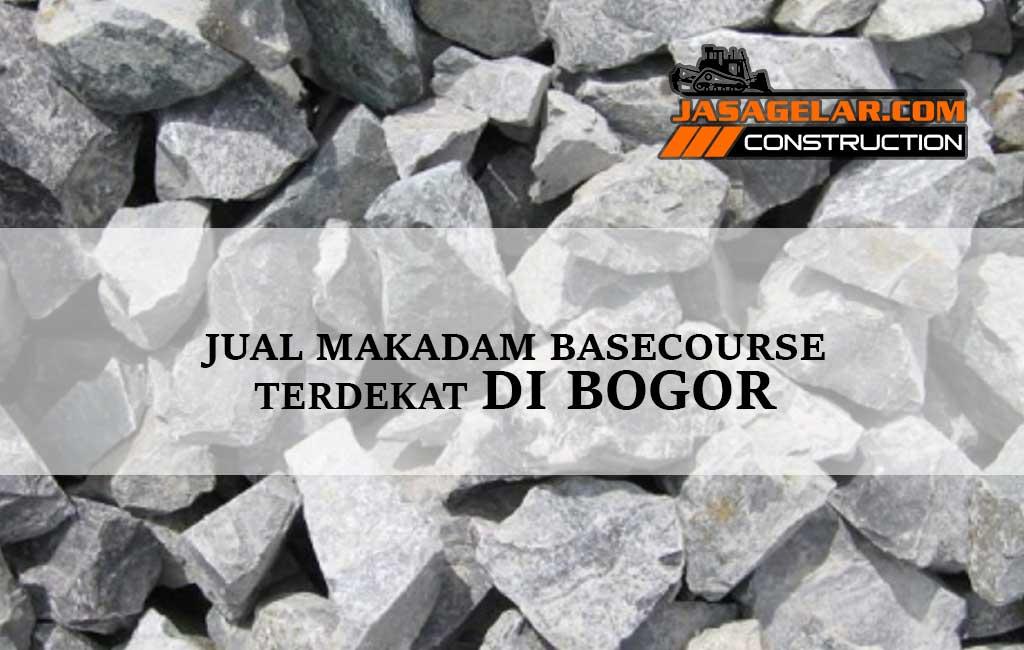 Jual Batu Makadam Bogor