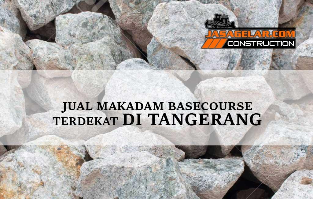 Jual Batu Makadam Tangerang